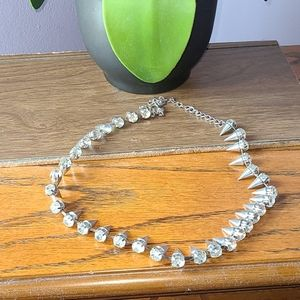 Lane Bryant spike necklace